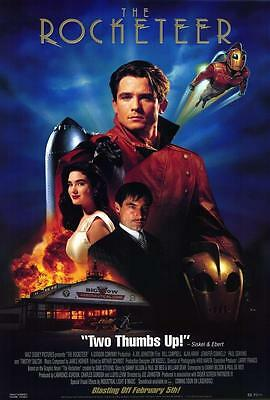 The Rocketeer Movie POSTER 27 x 40 Billy Campbell, Jennifer Connelly, B USA, NEW