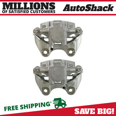 New Rear Pair Brake Calipers W / 1 Piston For 04-14 GMC Chevy Cadillac Truck SUV