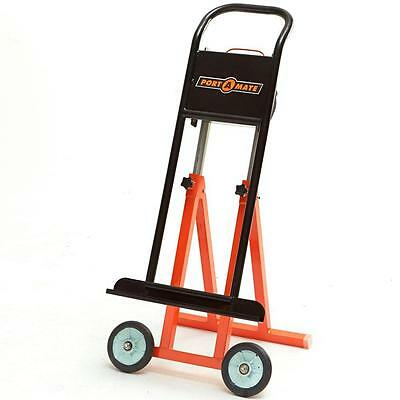 24 lb Portable Foldable Panel Carrier Lift Steel Dolly Push Cart Hand Trolley