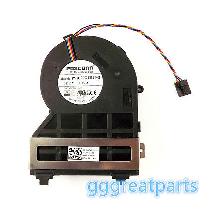 New  SFF Small Chassis Fan PVB120G12H-P01 0J50GH 0637NC For Dell 390 790 990 USA
