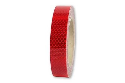 3m x 25mm 3M™ Reflex Ribbon Diamond Grade™ RA3/C 4090 Reflex Foil Red