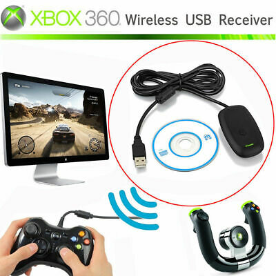 USB PC STEAM Video Gaming Receiver Adapter for Xbox 360 Wireless