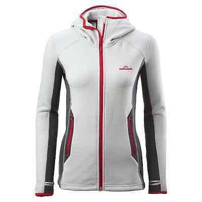 Kathmandu XT Surna Womens Hooded Technical Performance Fleece Jacket v2 Grey