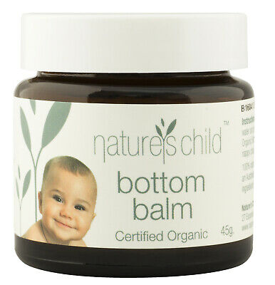 Baby Bottom Balm for Nappy Rash changing nappies CertifiedOrganic Nature's Child