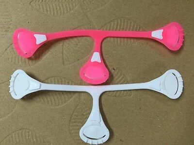 Baby SNAPPI NAPPI TWIN PACK 1 x  Neon Pink 1 X White