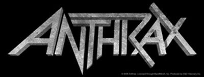 Anthrax Aufkleber Sticker Heavy Metal Bands Musik Hardrock Rock 'n' Roll