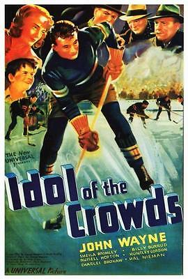 Idol of the Crowds Movie POSTER 27 x 40 John Wayne, Sheila Bromley, USA, NEW