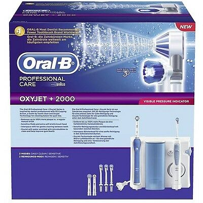 Oral-B Professional Care Center 2000 elektrische Zahnbürste & Munddusche 077572