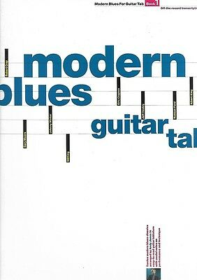 Partition guitare - Modern blues guitar tab - Andy Jones 1994 - Volume 1