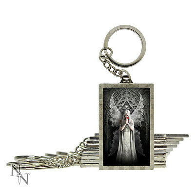 Anne Stokes officially licensed keyring Angel Only Love Remains