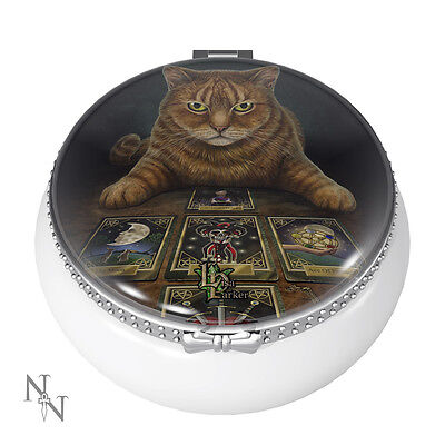 Lisa Parker officially licensed Trinket box The Reader Tarot Cat