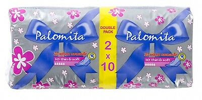 180 Sanitary Towels pads Thin Absorbent Wings singly wrapped LIMITED OFFER
