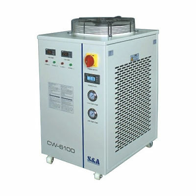 220V 60HZ S&A CW-6100BTH Industrial Water Chiller Dual Temp. &Pump with Heating