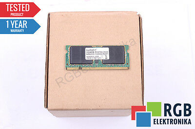 Ram Memory 1024Mb Pc2700-2533 Sdn333-1024Ccr021 So-Dimm Ddr Swissbit Id30624