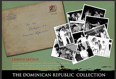 Pre Order The Limited Edition Bruce Lee Dominican Republic Collection: