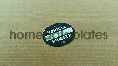 PLYMOUTH TRUCKS BUILT BY CHRYSLER CORPORATION SERIAL DATA PLATE 1937-1940 ID TAG