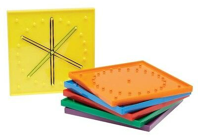 Geoboards Small 20 Bands Maths Teacher Education Learning Geometric Kids