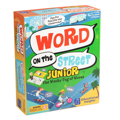 Learning resources Word on the Street Junior - Children's Spelling Game