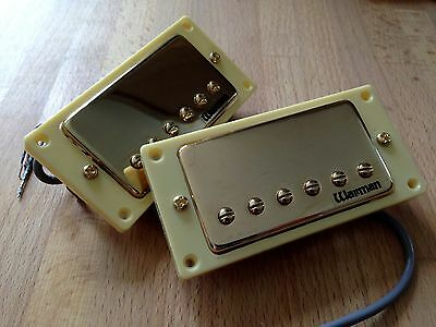 Warman Tennessee Revival Gold Plated Matched Pair Humbuckers