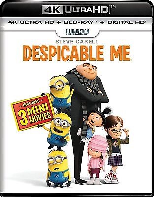 Despicable Me (4K Ultra HD)(UHD)(DTS:X)(Dolby Vision)