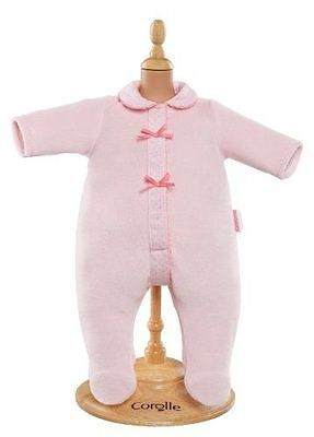 """Corolle Y5477 Pink Pajamas For 17"""" Baby Dolls - New, Sealed"""