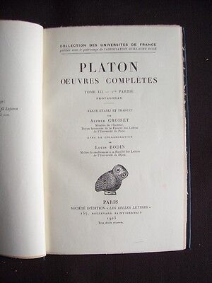Platon - Oeuvres complètes - T.3