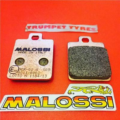 Piaggio Mp3 125 250 300 400 Malossi Race Sinter Front Brake Pads Vm625006
