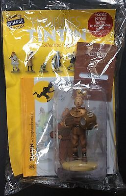 TINTIN Scaphandre Collection officielle figurine n°65 Neuf sous blister