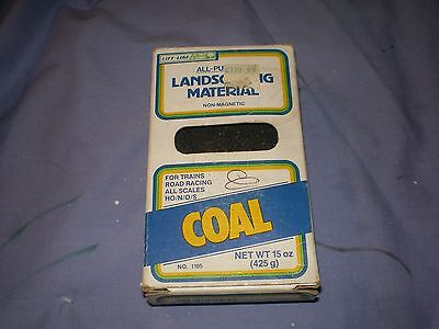 Unused Box of Landscaping Material/Coal for Train or Layout