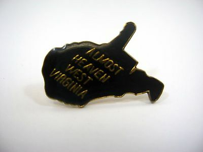 Vintage Collectible Pin: Almost Heaven West Virginia