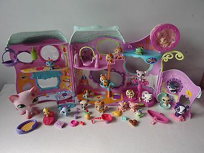 LITTLEST PET SHOP MAISON CLUB SPORTIF + FIGURINES + ACCESSOIRES -n°29-