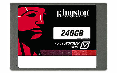 240GB Kingston SSDNow V300 6Gbps 2.5-inch Solid State Drive