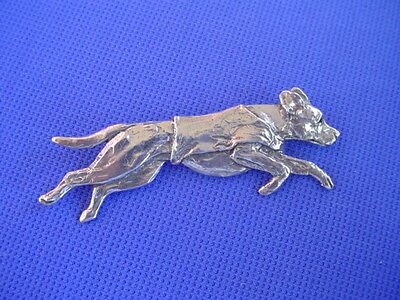 Rhodesian Ridgeback Pewter Pin COURSING #60F Dog Jewelry by Cindy A. Conter