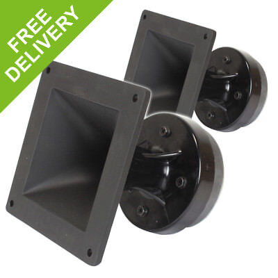 "2x Stage Line MHD-230/SQ 1"" Inch Spare Speaker Drivers DJ PA Horn Tweeters 160W"