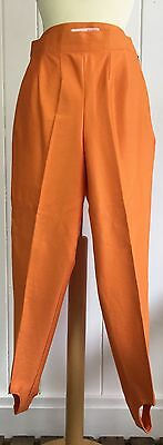 Vintage 1960's Stirrup Skinny Trousers Size 10