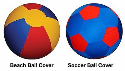Horsemen's Pride Mega Beach Ball and Soccer Ball Covers, 25,30&40-Inch options
