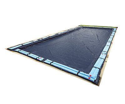 Winter Pool Cover Inground 16X32 Ft Rectangle Arctic Armor 8 Yr Warranty