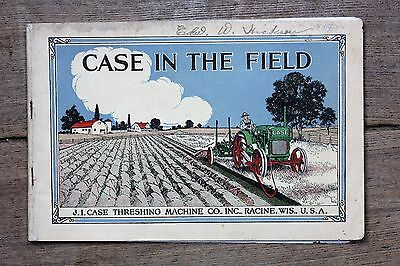"J. I. Case ""Case in the Field"" Picture Book, Around 1919, Very Good Condition"