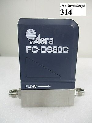 Aera FC-D980C Mass Flow Controller 50sccm SiH4 (used working)