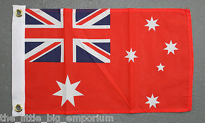 Australian Red Ensign Flag Small Size New Polyester Australia Boat Nautical
