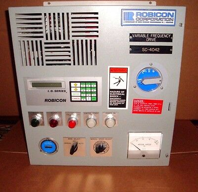 Siemens/ Robicon ID-PWM   VFD/ Variable Frequency Drive. 25 HP.Recent upgrades.