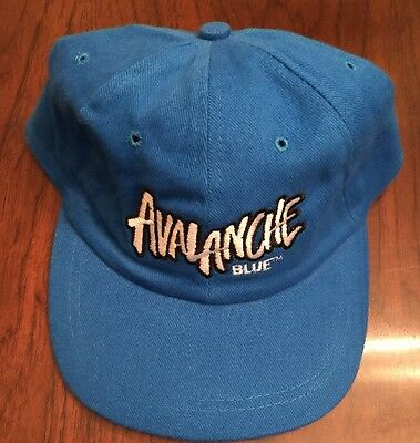 Avalanche Blue Embroidered Hat Cap Blue DO IT COOL DO IT SMOOTH