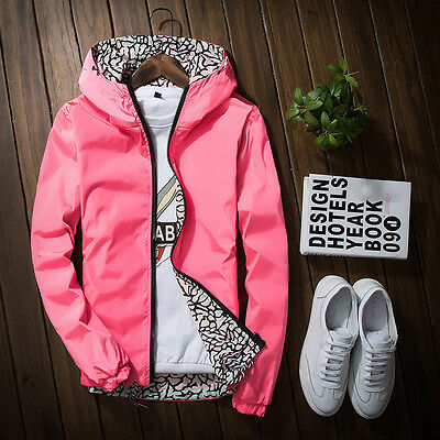 Women'S Spring And Autumn Fashion Hooded Jacket Sided Wear Jacket Thin Coat