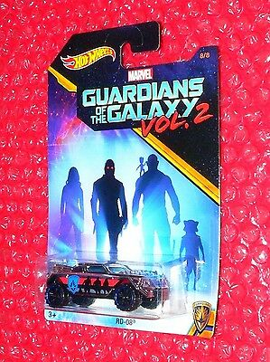 Hot Wheels Marvel Guardians of the Galaxy Vol.2 RD-08 #8  DWD79-0910