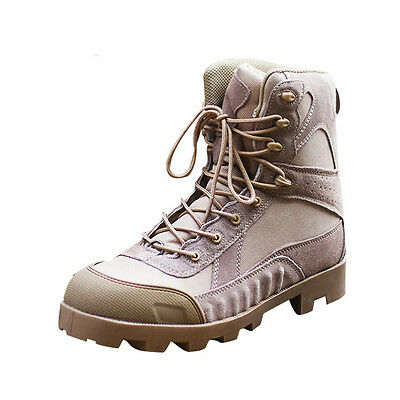 Hot Men's Military Tactical Combat Hiking Boots training Lace Up High Top Shoes