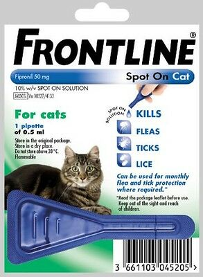Frontline Spot On For Cats - Flea & Pest Control
