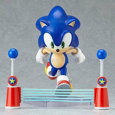 "New Nendoroid 4"" Anime Sonic The Hedgehog SEGA PVC Action Figure Figurine In Box"