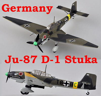 Easy Model 1/72 Germany Ju-87D-1 Stuka Fighter Model 2./StG.2 1942 #36385