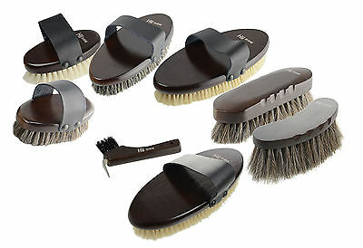 HySHINE Pro Deluxe High Quality Wood Backed Horse Grooming Brush Brushes/Combs