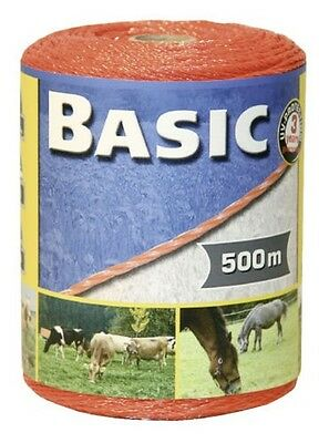 Corral Basic Fencing Polywire 500m - Fencing